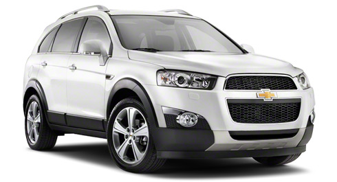 carte grise Chevrolet CAPTIVA