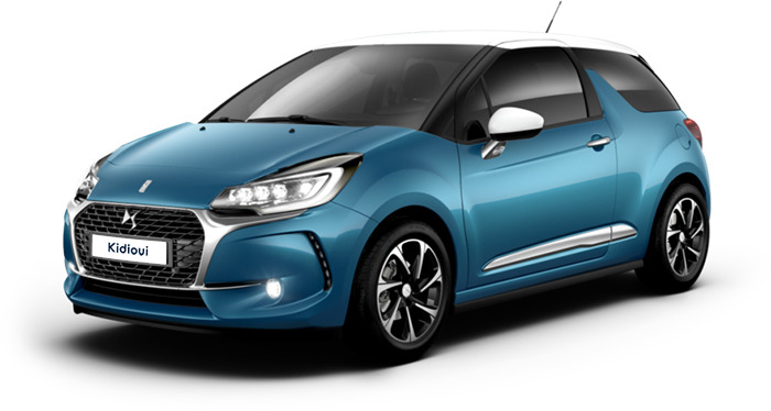carte grise Citroën DS3