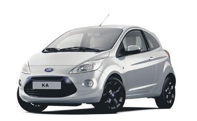 carte grise des modèles Ford KA